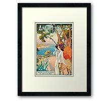 Antibes, Cote d'Azur Framed Print