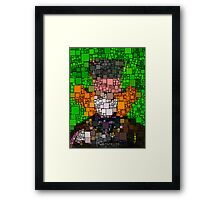 The Mad Hater Framed Print
