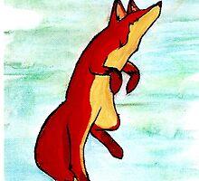 Happy Fox by CharlotteMayhew