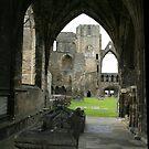Elgin Cathedral by hans p olsen