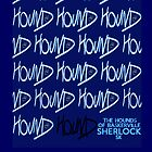 Sherlock Minimalist poster-style Shirts and art-The Hound of Baskerville, S2E2 by ShubhangiK