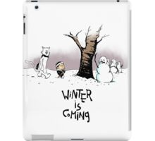 Jon and Ghost (color) iPad Case/Skin