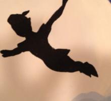 Peter Pan's Flight Sticker