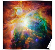 Heart of Orion Nebula | Infinity Symbol | Fresh Universe Poster