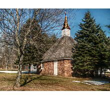 Church Of The Three Mile Run Photographic Print