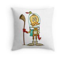 Alphorn Champion 1908 Throw Pillow
