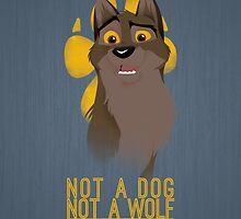 Not a Dog, Not a Wolf by ejtorres