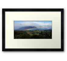 Mt. Roland - Tasmania Framed Print