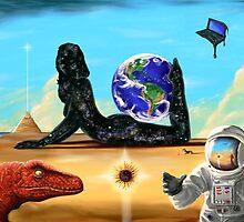 The Astronaut's Dream - 3 by Anton Van Dort