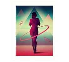 Atomos Art Print