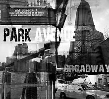 New York Collage II by ARTdefinity