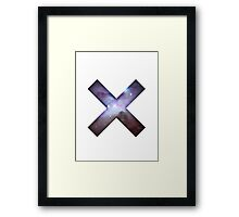 XX SPACE Framed Print