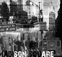 New York Collage III by ARTdefinity