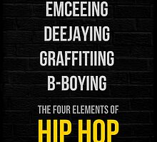 The Four Elements of Hip Hop  by HHGA