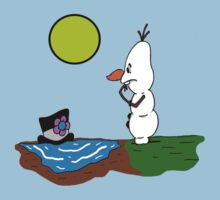 When Frosty Met Olaf Kids Clothes