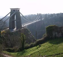 Clifton suspension bridge 1 by ukmomentcatcher