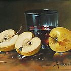 two golden apples by dusanvukovic