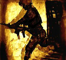 Mission Search, Helmand Province by michael kenny
