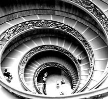 Spiral Staircase, Vatican Museum by ChaosGate