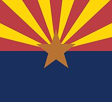 Flag of Arizona by TamiArtGallery