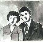 A Kazakh Couple by Daniel Gallegos