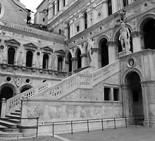 Doge's Palace Stairs and Arches by ChaosGate