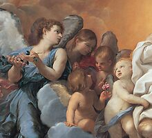 Detail of The Assumption of the Virgin Mary by Bridgeman Art Library