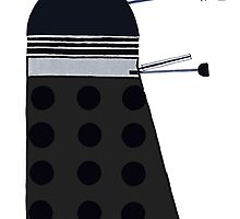 Dalek (Black) by thedaintydalek