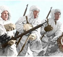 Soviet Snipers (WW II) by A. Hermann