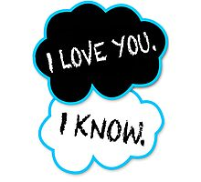 I love you.I know. Photographic Print