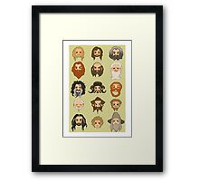 Traveling Party Framed Print