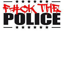 Logo Design Fuck The Police by Style-O-Mat