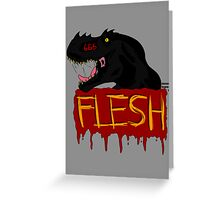 FLESH Greeting Card