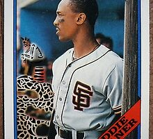 038 - Eddie Milner by Foob's Baseball Cards