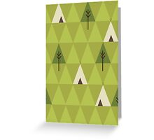 Teepee Greeting Card