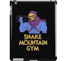 snake mountain gym iPad Case/Skin