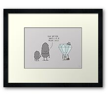 The Daily Grind Framed Print