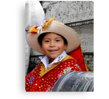 Cuenca Kids 445 Canvas Print