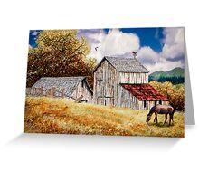 Echo Hills Farm Greeting Card