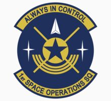 1st Space Operations Squadron - Always In Control by VeteranGraphics