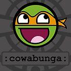 Cowabunga Buddy Squad: Michelangelo by Cowabunga