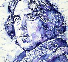 OSCAR WILDE portrait by lautir