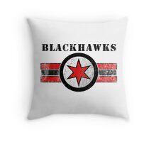 Air Hawks Throw Pillow