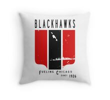 Gas Station Sign Throw Pillow