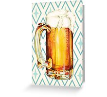 Beer Greeting Card