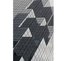 Mirrors of a glass building Photographic Print