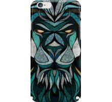 Lion Deep Totem iPhone Case/Skin