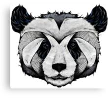 Panda Deep totem Canvas Print