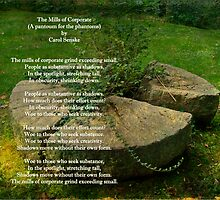 The Mills Of Corporate - Poem and Image by MotherNature2