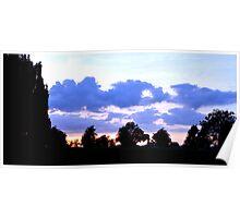 Sunset at Childwickbury Poster